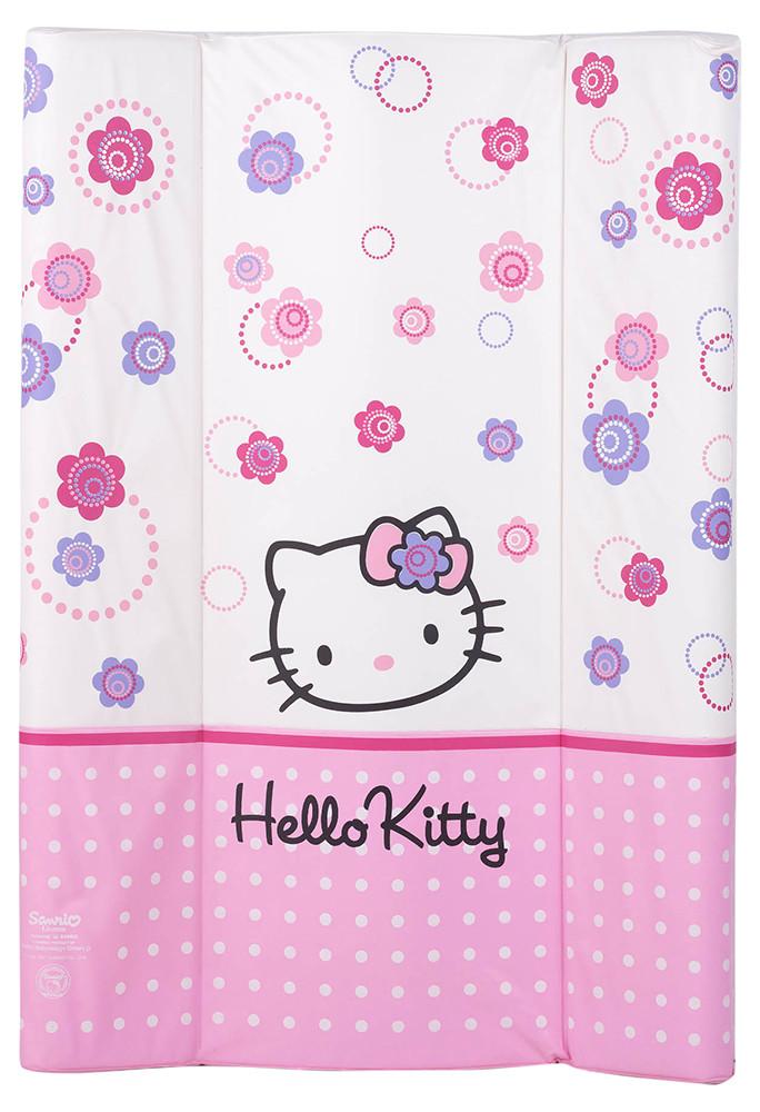 Пеленатор м'який Ceba Baby CE-102 для пеленальних комодів hello kitty