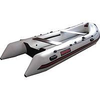 Лодка моторная килевая, лодка пвх  ЛК400