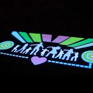 Эквалайзер на стекло авто №29 Dance яркий эквалайзер подарок