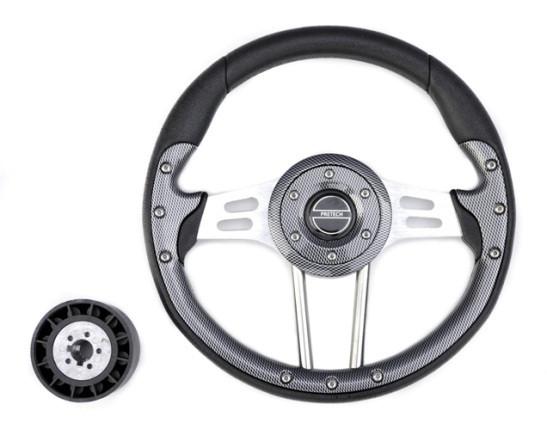 Рулевое колесо 33 см карбон Pretech HD-5166F 330мм