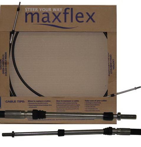 Maxflex 10ft трос управления газ-реверс Максфлекс 10 футов