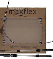 Maxflex 11ft нержавеющий трос управления газ-реверс Максфлекс 11 футов