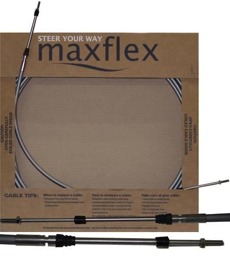 Maxflex 16ft нержавеющий трос управления газ-реверс Максфлекс 16 футов