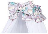 Детская постель Babyroom Comfort-08 unicorn серый (единороги), фото 4