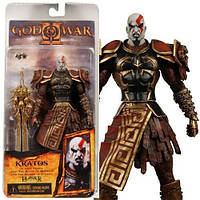 Фигурка в Кратоса в доспехах Ареса - Kratos in Ares armor, God Of War II, Neca