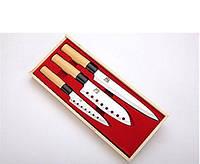 Набор ножей  в деревянной коробке 3 шт Mayer&Boch MB 4134