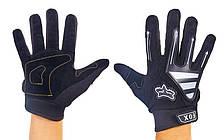 Мотоперчатки текстильные FOX BC-4640-BK (реплика)