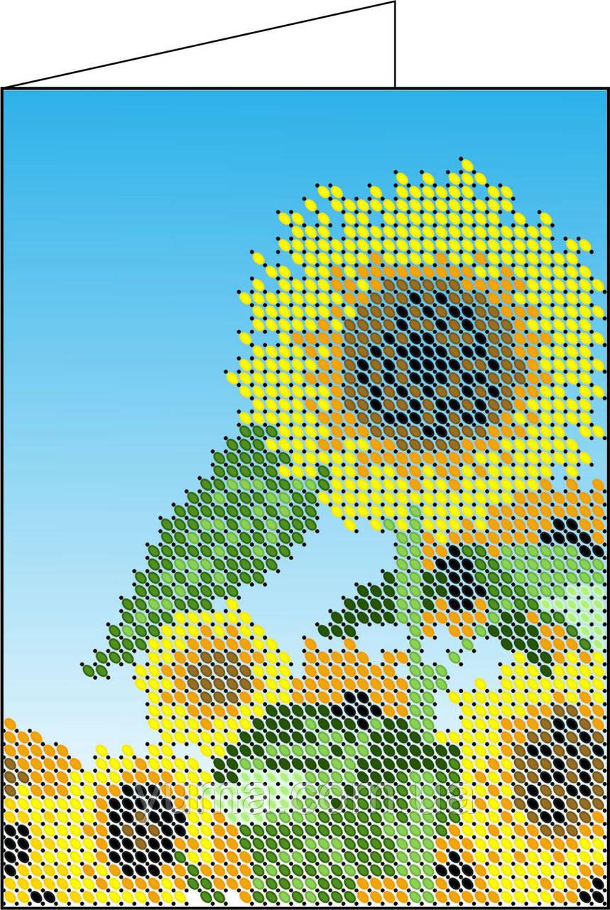 Схема для вишивки бісером обкладинки на паспорт Д1