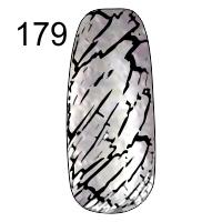 MN-07T Трескающийся лак для ногтей № 179 (серебро)