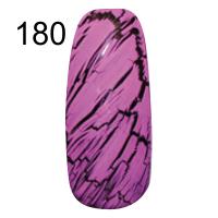 MN-07T Трескающийся лак для ногтей № 180 (сирень с блестками)