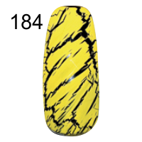 MN-07T Трескающийся лак для ногтей № 184 (желтый)