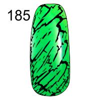 MN-07T Трескающийся лак для ногтей № 185 (зеленый)
