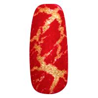 NE-6T Трескающийся лак для ногтей № 1 (красный) (2+1)
