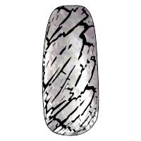 NE-6T Трескающийся лак для ногтей № 4 (серебро) (2+1)