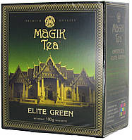 """Чай зелёный Magik Tea """"Elite Green"""" 100г."""