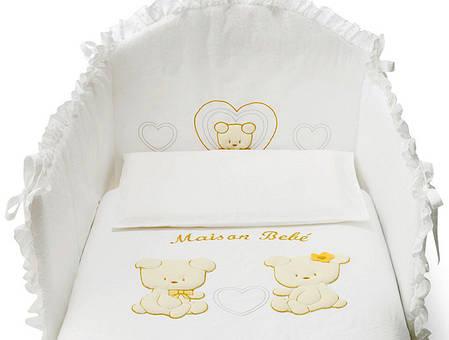 Постельный комплект Pali Maison Bebe White (O687MAISO1), фото 2