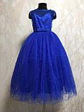 Нарядное платье для девочки Бусинка, фото 4