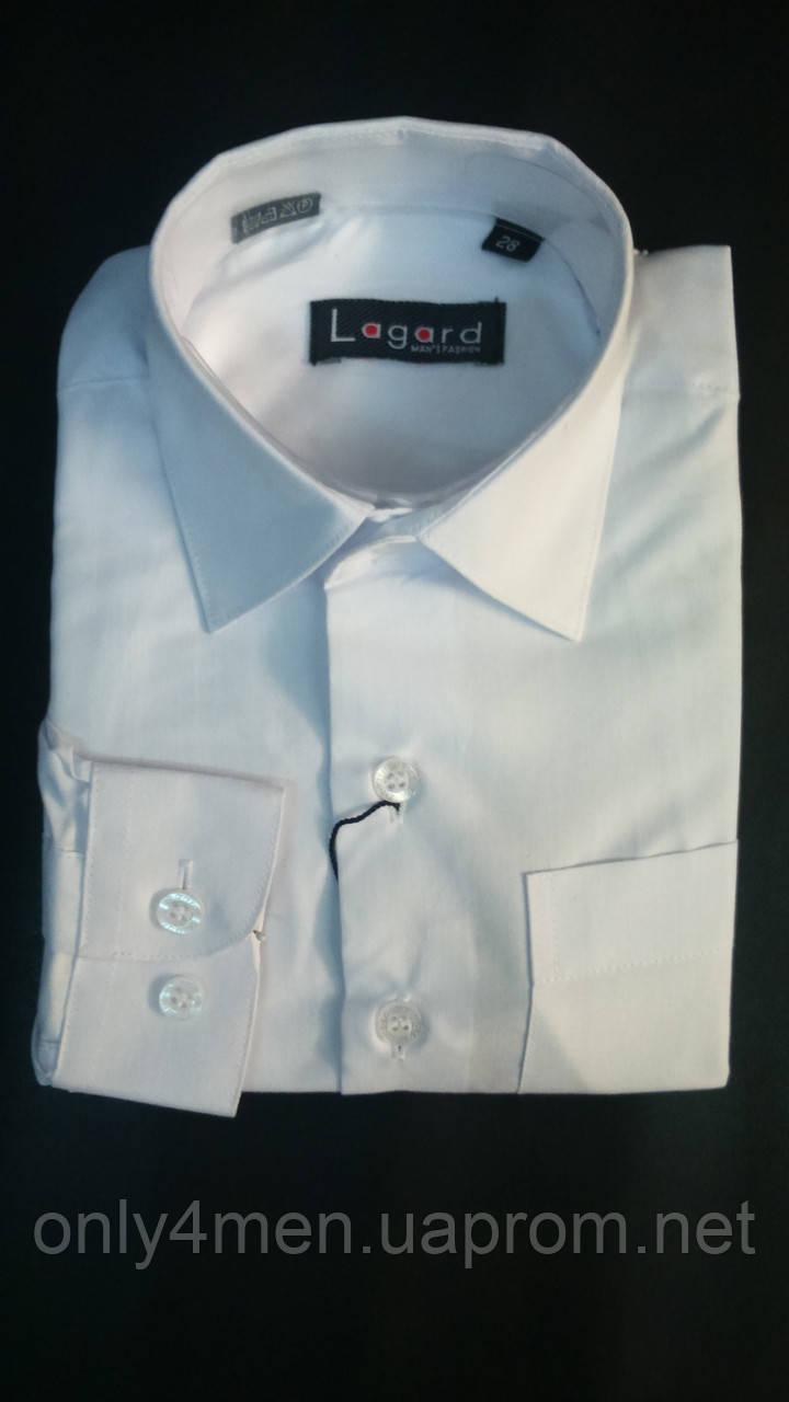 Рубашка белая детская садик