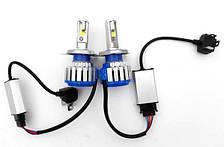 Комплект светодиодных ламп головного света LED T1-H4 ксенон Xenon T1-H4 Turbo LED, фото 2