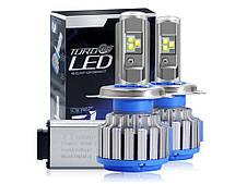 Светодиодные лампы для автомобиля Led Xenon Ксенон T1-H4 (пара), фото 2