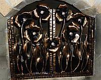 Каминная решетка распашная., фото 1