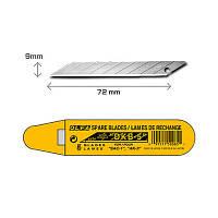 Лезвия Olfa 9мм. DKB-5: нержавеющая сталь, 5шт.