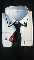 Рубашка детская с галстуком, оптом