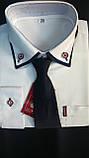 Сорочка дитяча з краваткою, оптом, фото 2