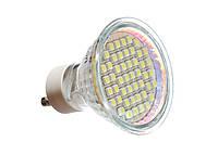 Светодиодная лампа GU10, 220Вольт 48 светодиодов 3528