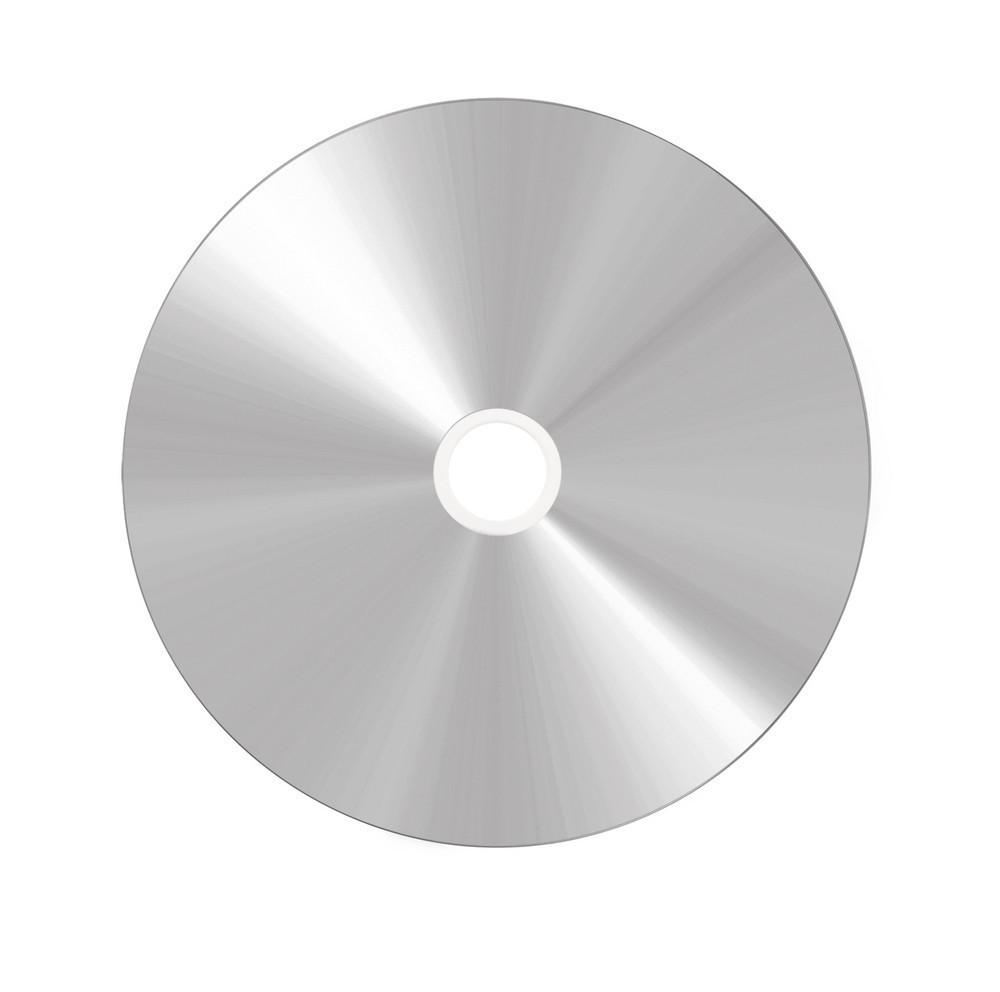 Диск DVD-R CМС Printable white silver (принтовые сильвер)