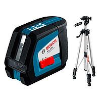 Нивелир (уровень) лазерный Bosch GLL 2-50+BS 150