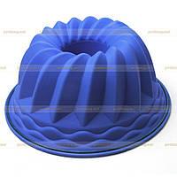 Силиконовая форма для выпекания кекса.