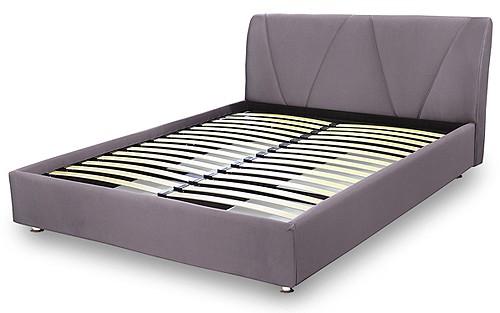 Ліжко подіум з мякою спинкою № 14 Матролюкс