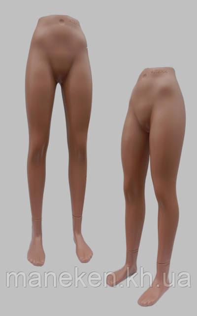 Манекен объемный ноги подростковые к подставке