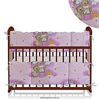 Защита на кроватку Мишка на лестнице