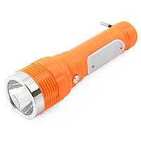 Аккумуляторный фонарь Yajia 231, 1W+8LED
