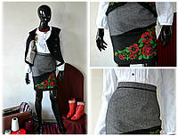 Вышитая юбка