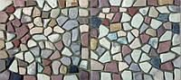 Массажный коврик из камня (гальки), 45х93 см