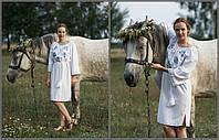 Платья женское вышитое