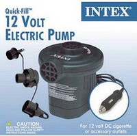 Мощный электрический насос 12V Intex 66626 Quick Fill DC