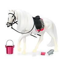 Акция! Игровая фигура LORI Белая лошадь с Камарилло LO38000Z [Скидка 5%, при условии 100% предоплаты!]