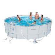 Каркасный круглый бассейн 488x122см без уборочного комплекта  Bestway 56266