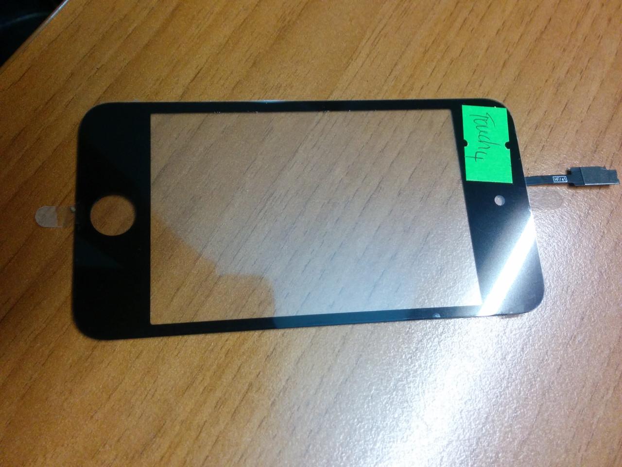 Тачскрин (сенсорное стекло) для ipod touch 4 черный