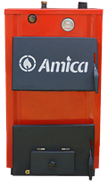 Твердотопливный котел Amica Optima 18, фото 3