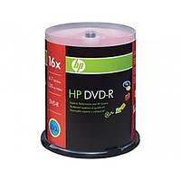DVD-R диски для видео Hewlett-Packard Cake box100