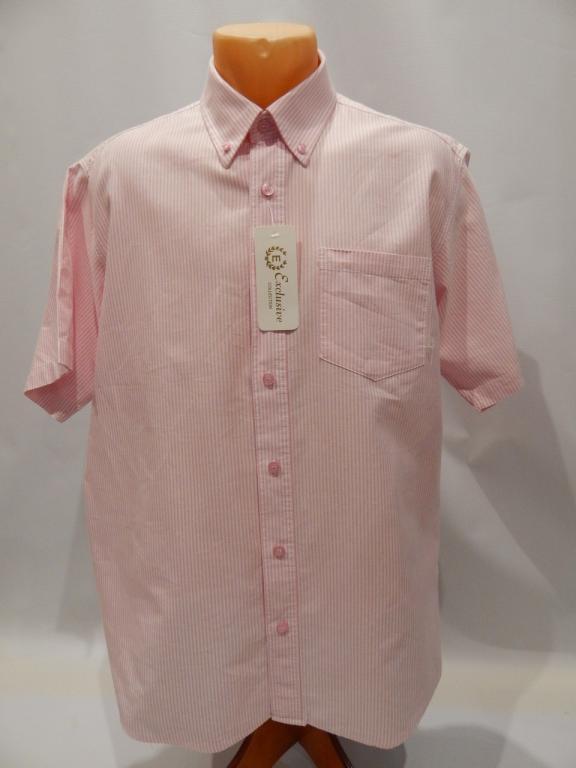 Рубашка мужская с коротким рукавом Cotton TRADERS
