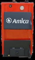 Твердотопливный котел Amica Optima 14p с варочной плитой, фото 3