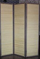 Ширма бамбуковая двухсторонняя на 3 секции.
