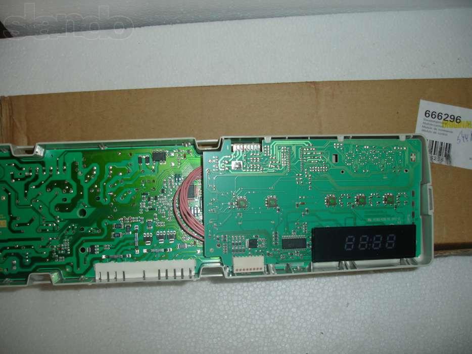 Модуль управления стиральной машины BOSCH/SIEMENS 666296