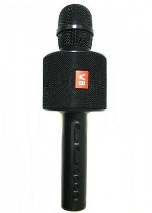 Беспроводной микрофон караоке v8 в чехле